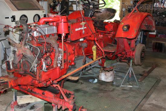 Hanomag perfect 400 tractoren en oldtimers bij for Tractor verlichting